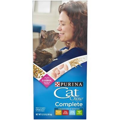 Purina Cat Chow Complete Dry Cat Food - 6.3lbs