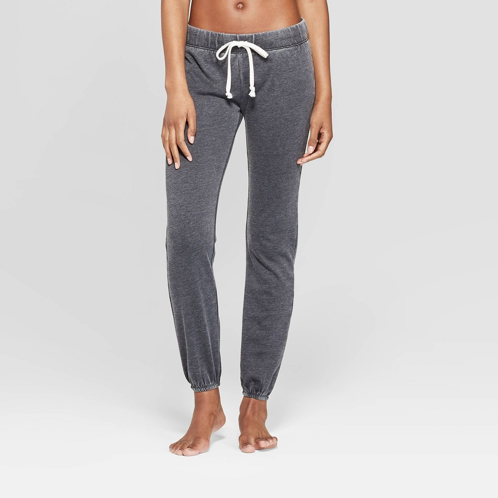 Grayson Threads Women's Jogger Pajama Pants - Black M