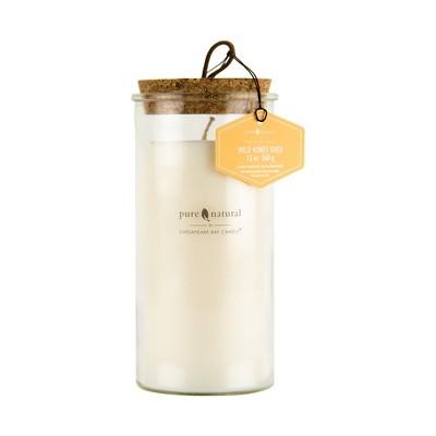 13oz Large Glass Jar Candle Wild Honey Shea - Chesapeake Bay Candle