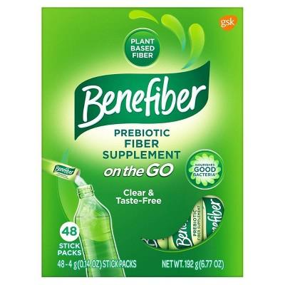 Benefiber Prebiotic Fiber Sticks