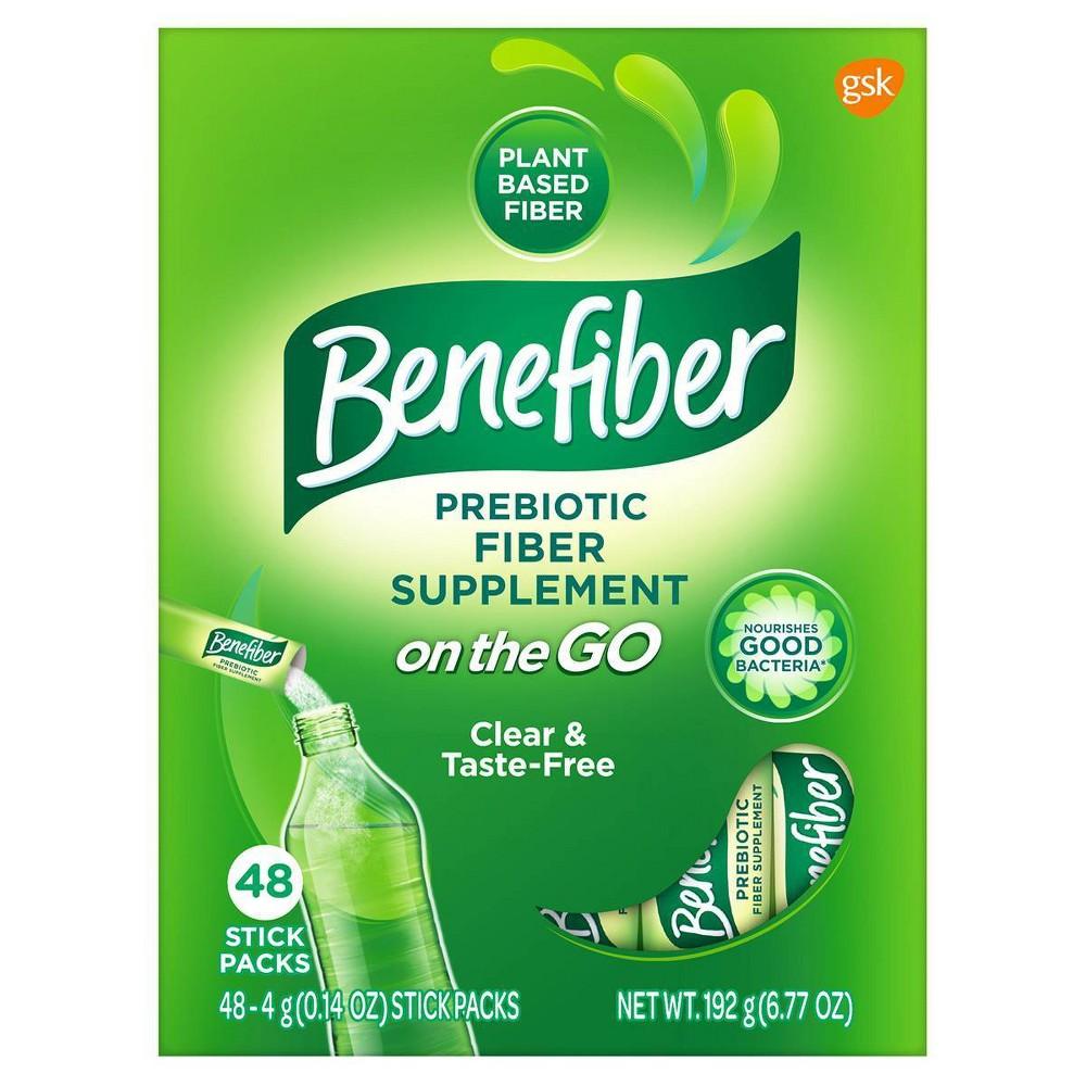 Benefiber Prebiotic Fiber Sticks 48ct