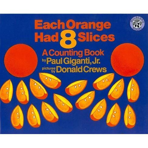 Each Orange Had 8 Slices Big Book - by  Paul Giganti (Paperback) - image 1 of 1