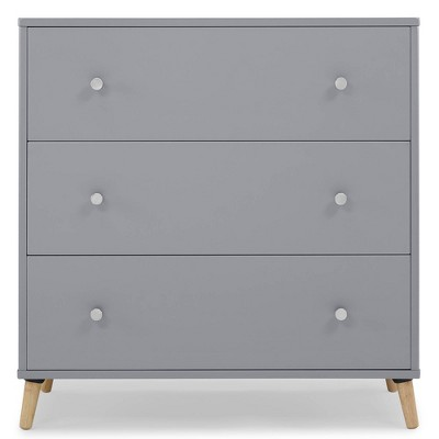 Delta Children Jordan 3 Drawer Dresser - Gray