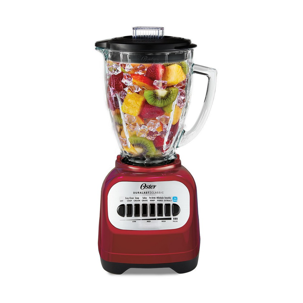 Oster Classic Series Blender with Travel Smoothie Cup – Red Blstcg-Rbg-000 14461607