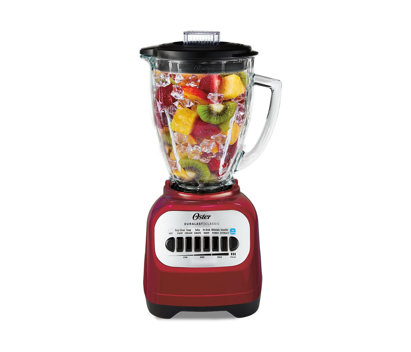 Save 25% on Oster Classic Series Blender with Travel Smoothie Cup - Red BLSTCG-RBG-000
