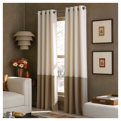 Curtainworks Kendall Lined Curtain Panel - Ivory (95 )