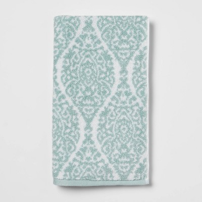 Performance Hand Towel Aqua Ogee - Threshold™