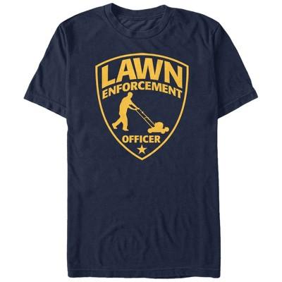 Men's Lost Gods Lawn Enforcement Officer T-Shirt