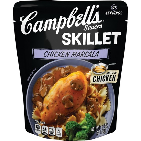 Campbell's Chicken Marsala Skillet Sauces - 11oz - image 1 of 5