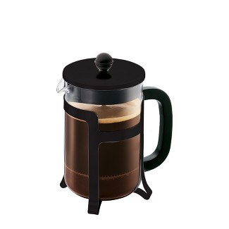 4cup Glass Jesper French Press Black - Bodum
