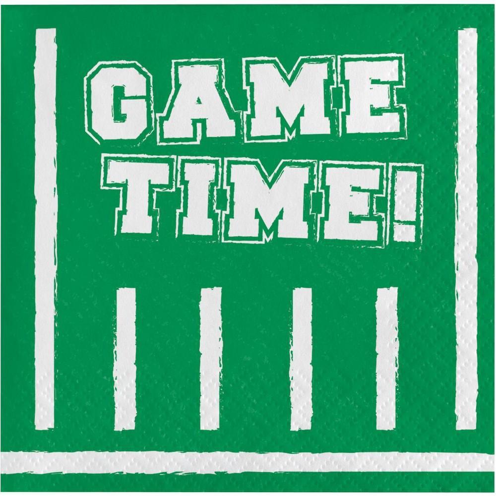 Image of 16ct Game Time Beverage Napkins
