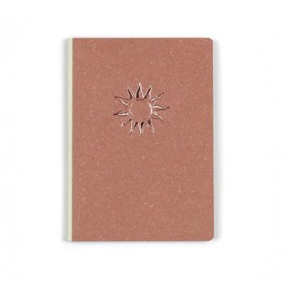 Denik Hardbound Canvas Notebook Rise & Shine Dot Grid