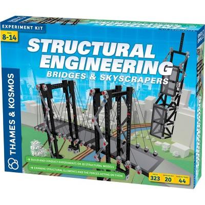 Thames & Kosmos Structural Engineering Bridges & Skyscrapers Science Kit