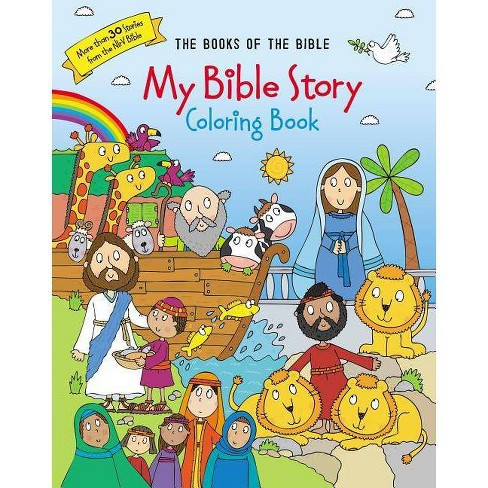 My Bible Story Coloring Book - by Zondervan (Paperback)
