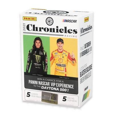 2021 Panini Chronicles Racing Trading Card Blaster Box
