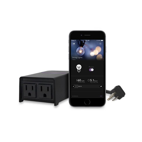 iDevices WiFi Outdoor Smart Plug Works with Alexa and HomeKit
