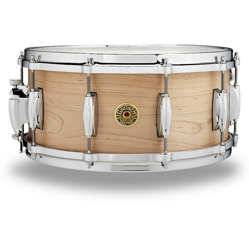 Gretsch Drums USA Solid Maple Snare Drum 14 x 6.5 in. Gloss Natural - image 1 of 1