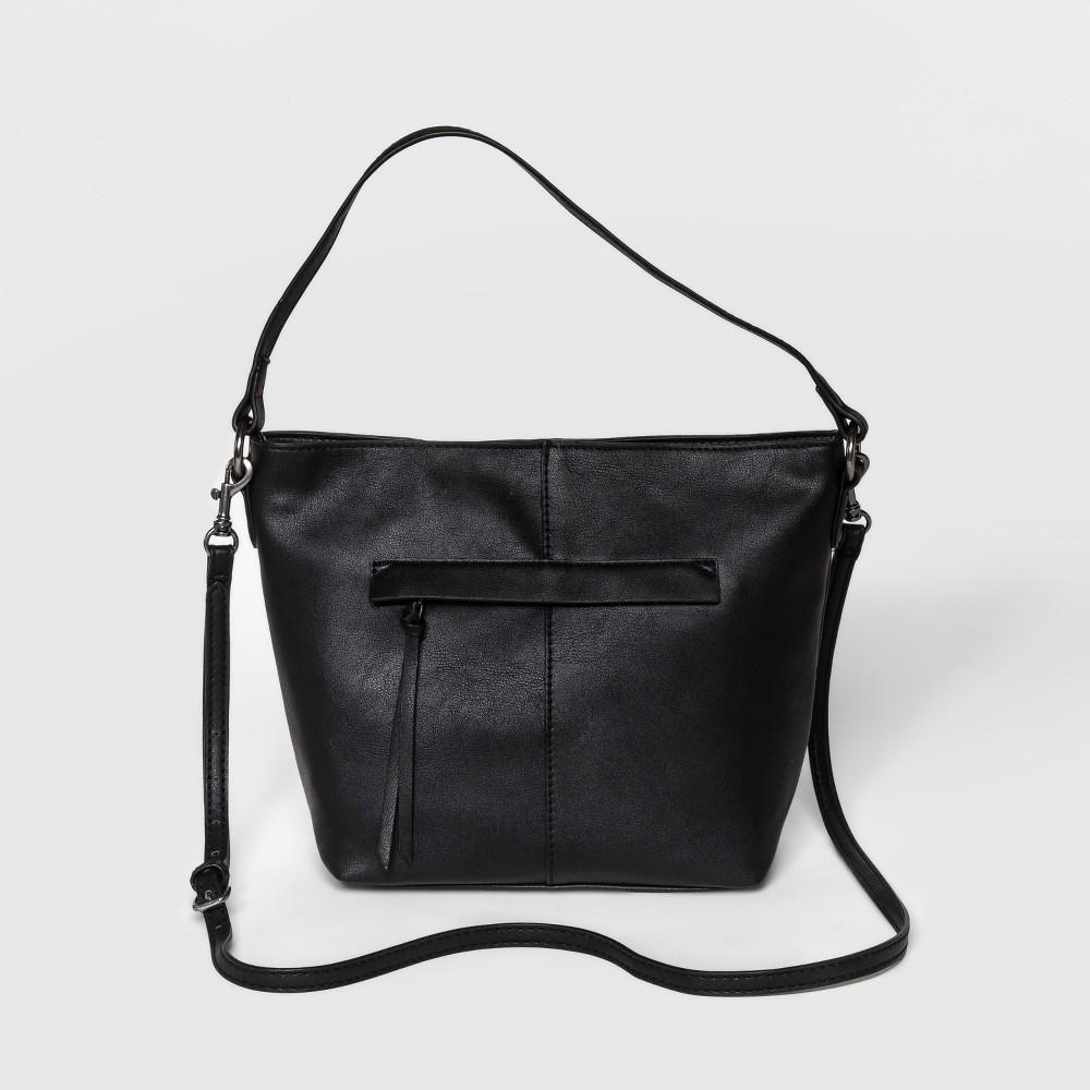 Campbell Hobo Handbag - Universal Thread Black, Women's