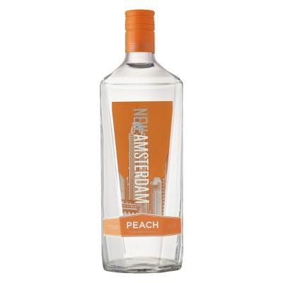 New Amsterdam Peach Flavored Vodka - 1.75L Bottle