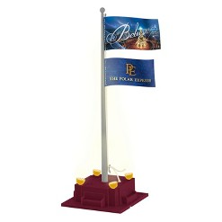 Lionel The Polar Express Flagpole