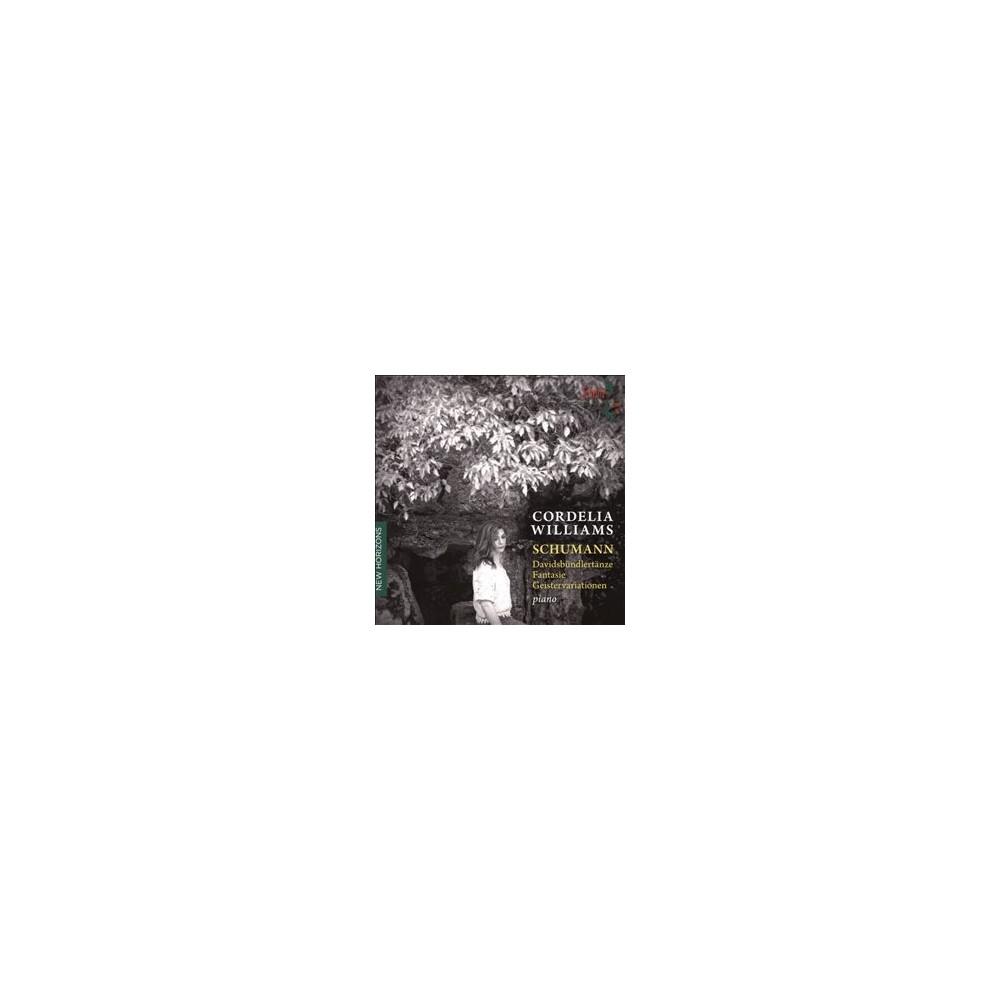 Cordelia Williams - Schumann:Piano Music (CD)