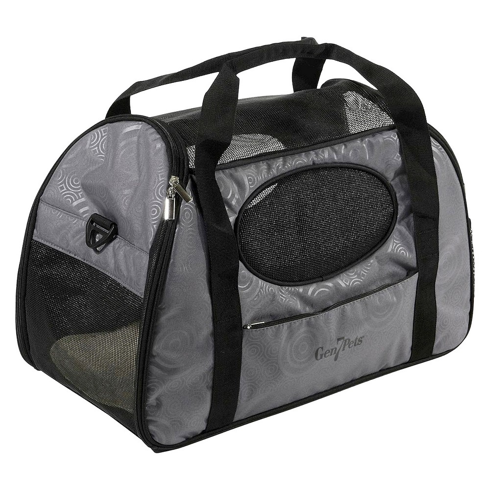 Gen7Pets Carry-Me Cat and Dog Carrier - Large - Gray, Gray Shadow