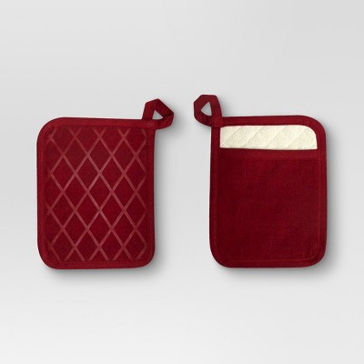 Pot Holder Red - Threshold™
