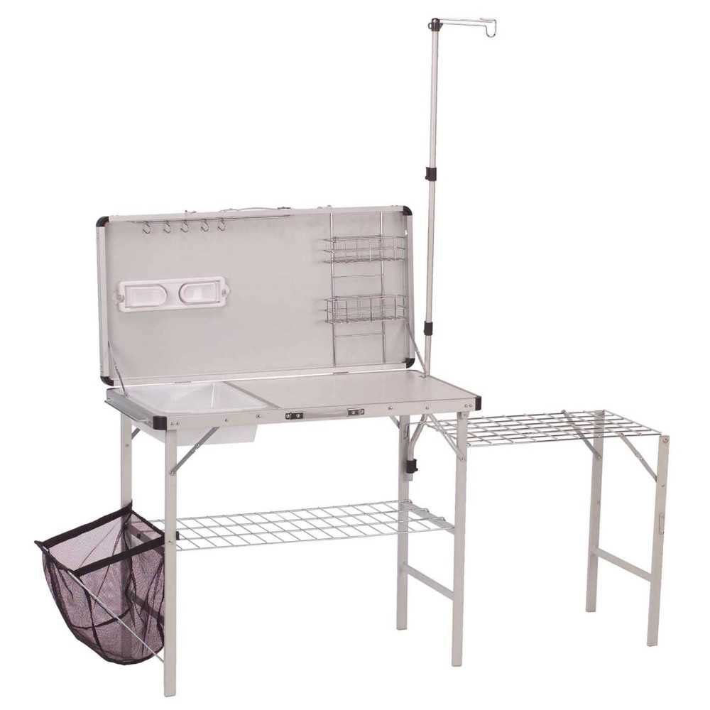 Image of Coleman Pack-Away Deluxe Camp Kitchen - Gray