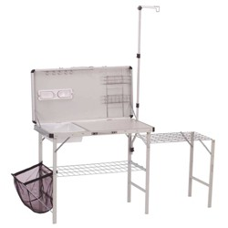 Coleman Pack-Away Deluxe Camp Kitchen - Gray