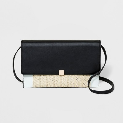 Magnetic Closure Crossbody Bag   A New Day™ Black by A New Day