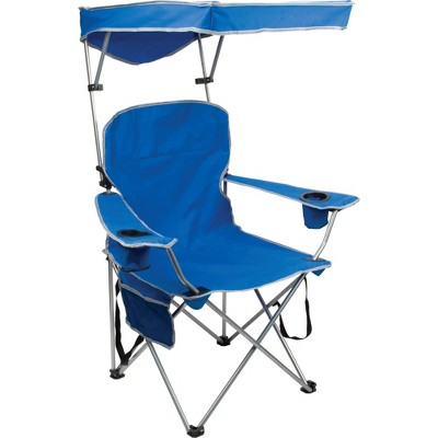 Quik Shade Full Size Shade Folding Chair - Blue