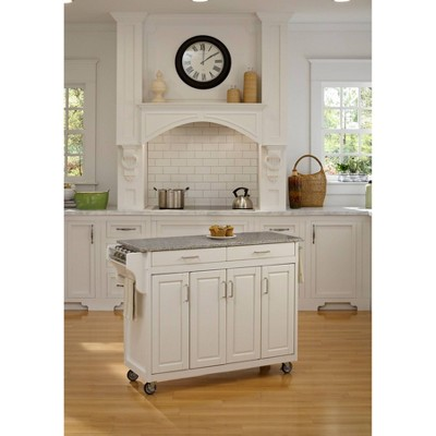 Kitchen Carts And Islands White Base - Home Styles