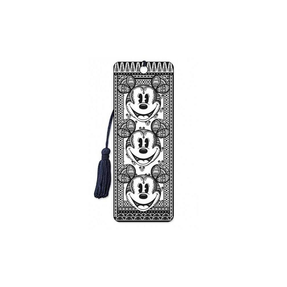 Disney 3d Bookmark Mickey Fractal Hardcover