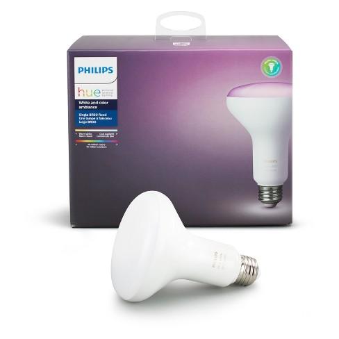 Philips Hue BR30 LED Light Bulb White