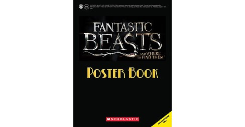 Fantastic Beasts and Where to Find Them Poster Book (Paperback) - image 1 of 1