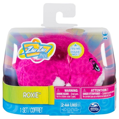 """Zhu Zhu Pets® Roxie - Furry 4"""" Hamster Toy with Sounds & Movement - image 1 of 3"""