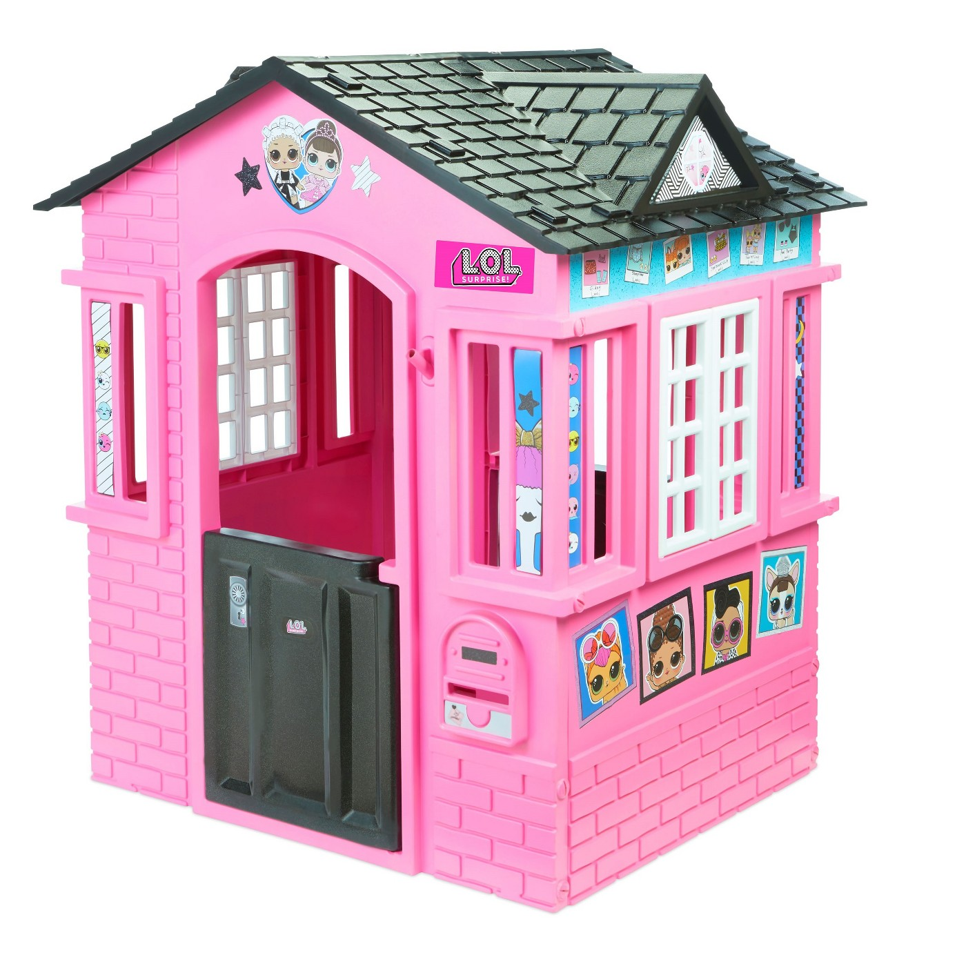 L.O.L Surprise! Indoor and Outdoor Cottage Playhouse with Glitter - image 1 of 6