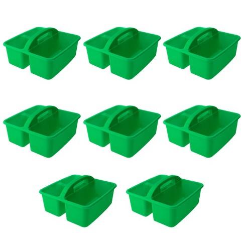 8pk Plastic Supply Caddy Green - Bullseye's Playground™ - image 1 of 3