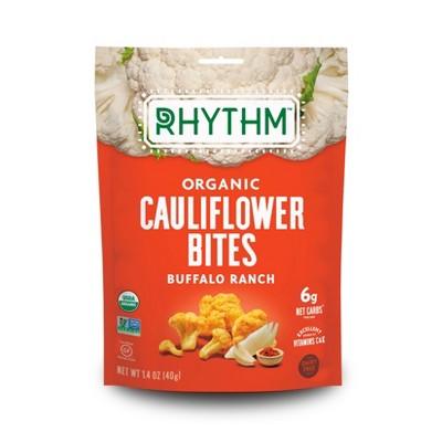 Rhythm Buffalo Ranch Organic Cauliflower Bites - 1.4oz
