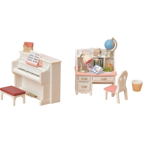 Calico Critters Piano And Desk Set Target