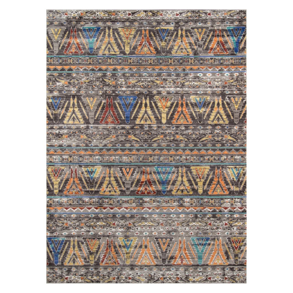 9'X12' Tribal Design Loomed Area Rug - Momeni