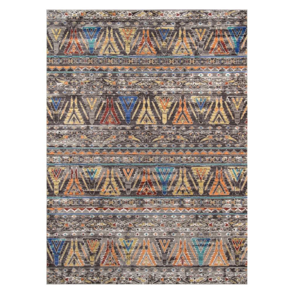 9'X12' Tribal Design Loomed Area Rug - Momeni, Multicolored