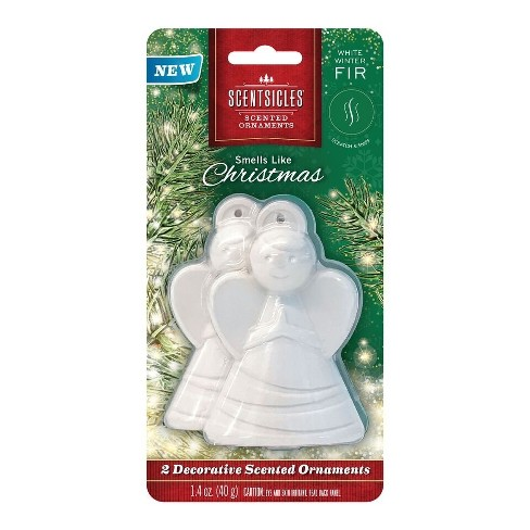 ScentSicles 2pk 3.5'' Decorative Scented Angel Ornaments - image 1 of 3