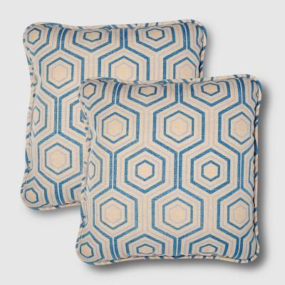 Rolston 2pk Outdoor Throw Pillow Print - Haven Way