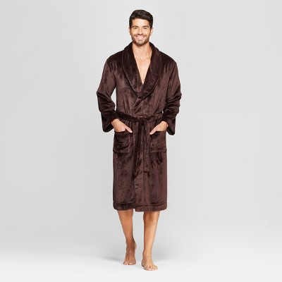 Men's Plush Robe - Goodfellow & Co™ Raspberry S/M