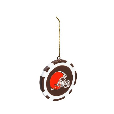 Team Sports America Game Chip Ornament, Cleveland Browns