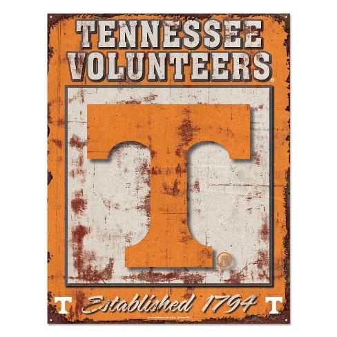 NCAA Tennessee Volunteers Metal Wall Sign - image 1 of 1