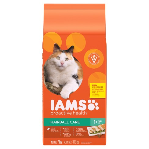 IAMS Proactive Health - Adult Hairball Care Dry Cat Food - image 1 of 8