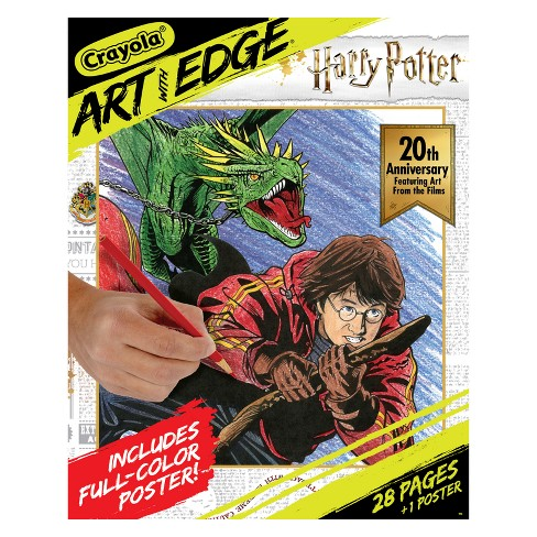 Harry Potter Coloring Book - Crayola Art With Edge : Target