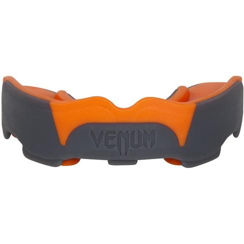 Gray//Orange Venum Predator Mouthguard with Case